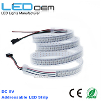 ws2811 arduino rgb pixel led strip waterproof