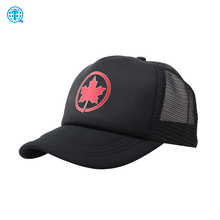 Men Newhattan 5 Panel Full Mesh Back Hats,Yupoong Trucker Hat Plain Custom Printed Logo with Curved Bill