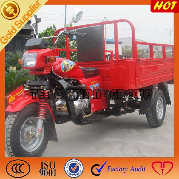 china supplier top 3 wheel cargo motorcycle/2015 new top three wheel tricycle