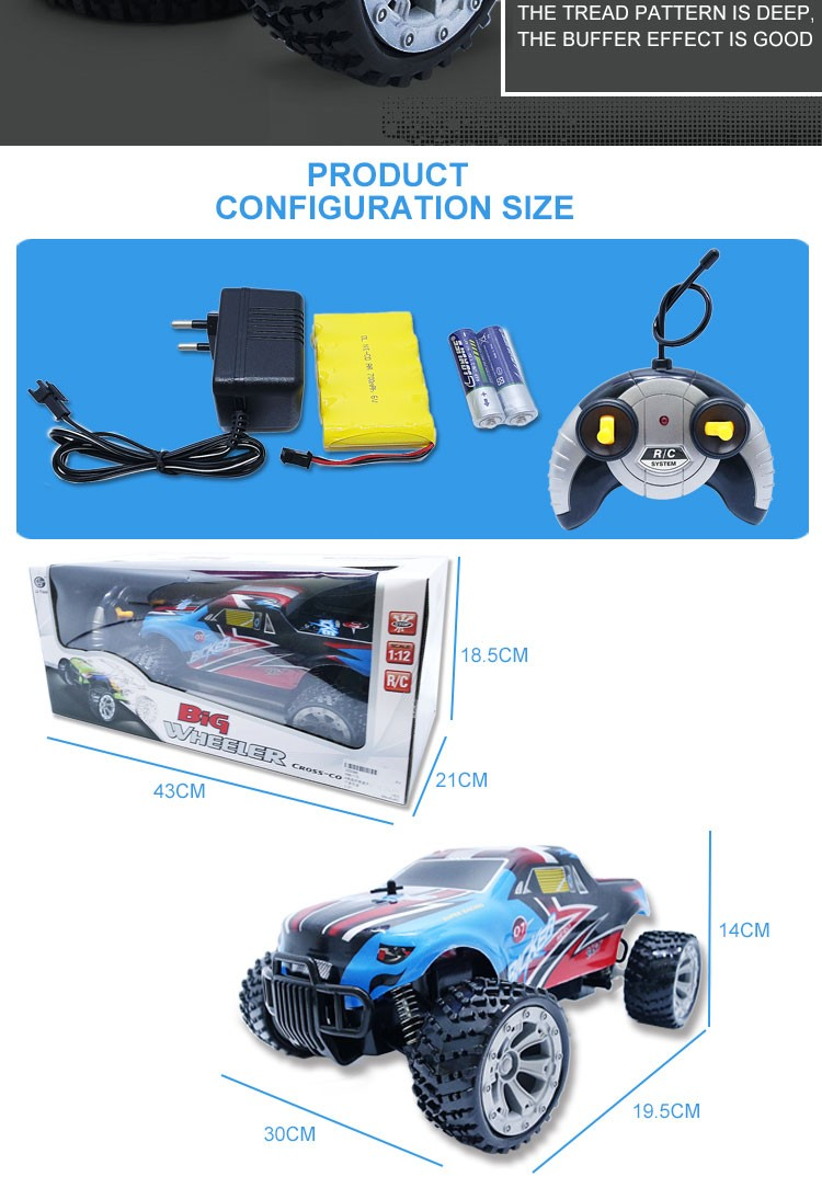 China Chenghai 1:12 RC Electric Car for Discount