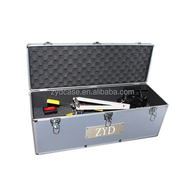Aluminum Material 450 Class RC Helicopters Carrying Case, ZYD-TL014