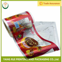 China Manufacturer Non-Breakage ldpe plastic film roll,food automatic packaging roll film