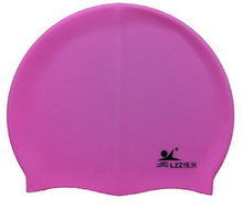 New design Soft Earmuffs waterproof silicone swimming cap Thick caps