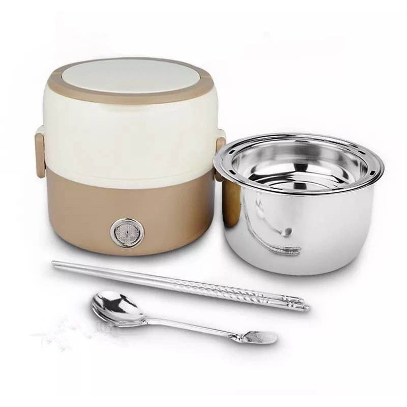 Multifunctional Portable travel Stainless Steel Electric Mini Rice Cooker