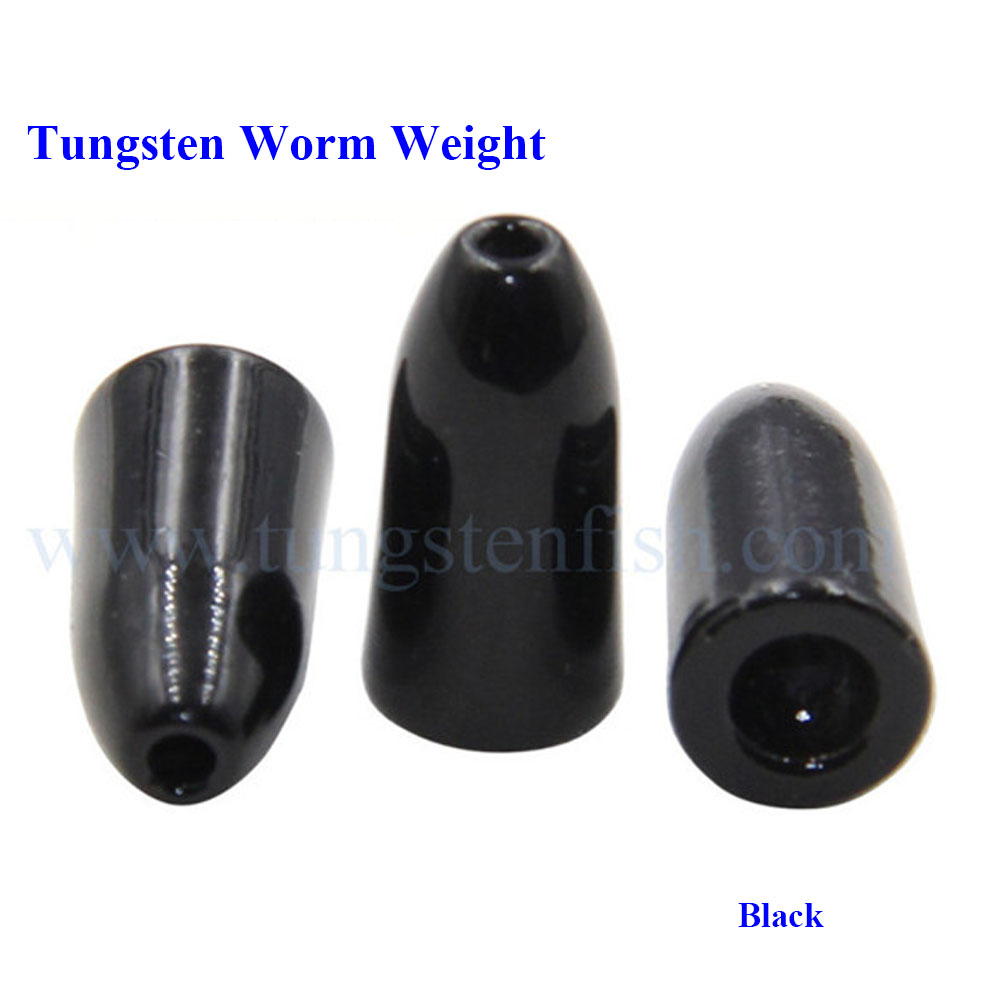 Bullet type tungsten molds fishing weights