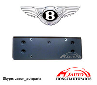 Bentley Continental GT License frame plate support bracket