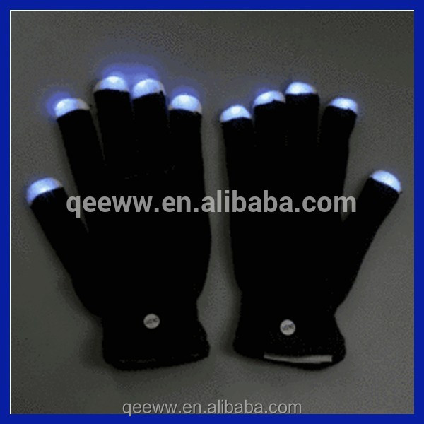 LED lighting gloves Amazon Supplier Led glove wholesaler factory supply party decorations rave led light gloves