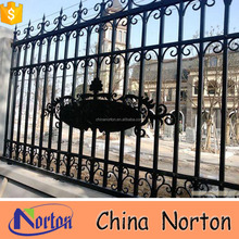 Trade assurance outdoor cheap decorative cast iron fence panels for sale NT-CIB001