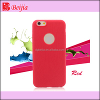 red color ultra-thin silicone mobile phone case for iphone 6