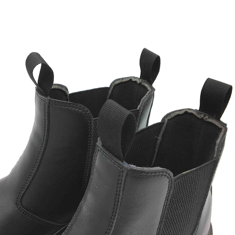 High Quality Smooth Cow Leather China Work Safety Shoes For Promotion