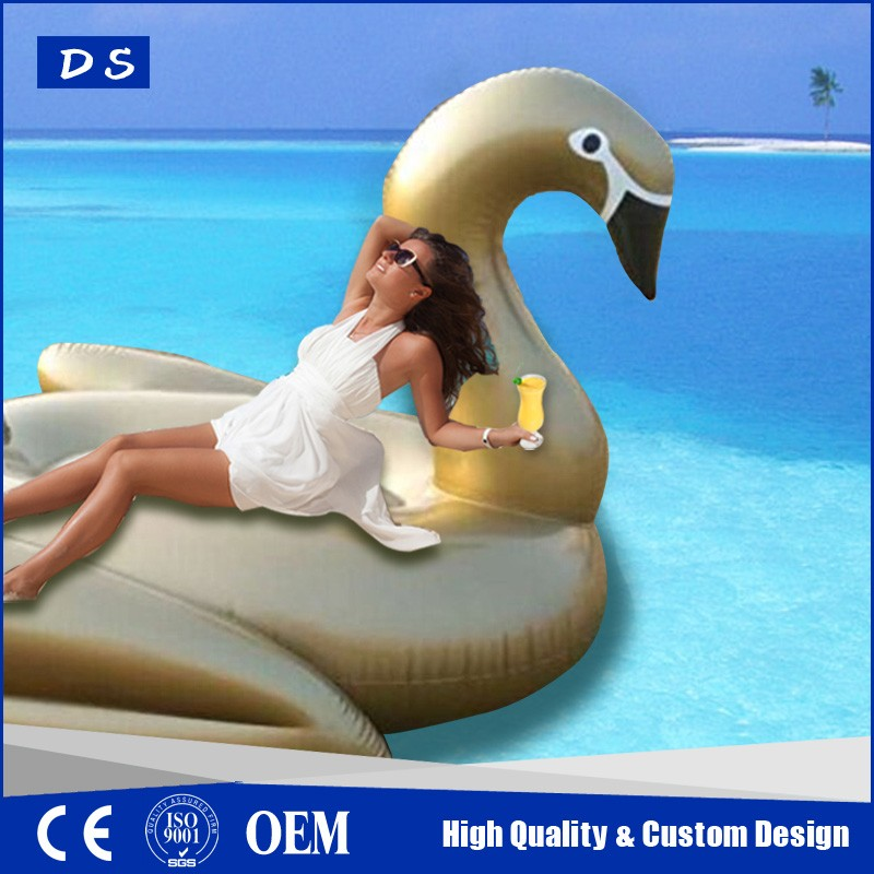 2017 promotional inflatable floating swan for sale, inflatable swan