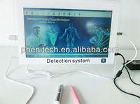 "2013 new arrival 14"" PC type full touch screen quantum magnetic health analyzer"