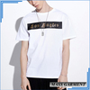 White Name T Shirt Custom Men