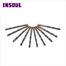 Usa Hot New Products HRC 62-63 Parallel Shank HSS Drill Bits For Metal Drilling