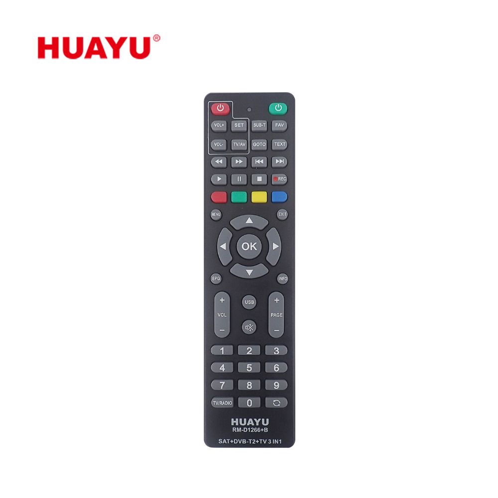 Wholesale Remote Control Sat Online Buy Best In1 Universal By Circuit Electronics For The Home Top D1266 B Huayu Dvb T2 Tv Strongsat