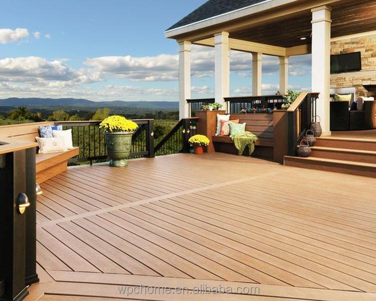 WPC Outdoor Flooring, Hi-Q Hollow wpc decking