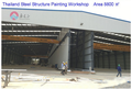 portal frame prefabricated steel structure industrial workshop buildings in Thailand