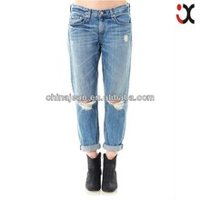 2017 sexy women jeans hole jeans fashion pictures of jeans pants (JXL20884)