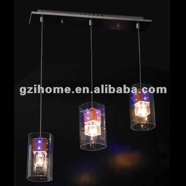 RGB color changeable led pendant lighting