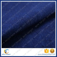 Light long bluw denim clothing fabric for jeans skirts