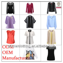 new fashion europe style ladies' good quality womens clothing manufacturers