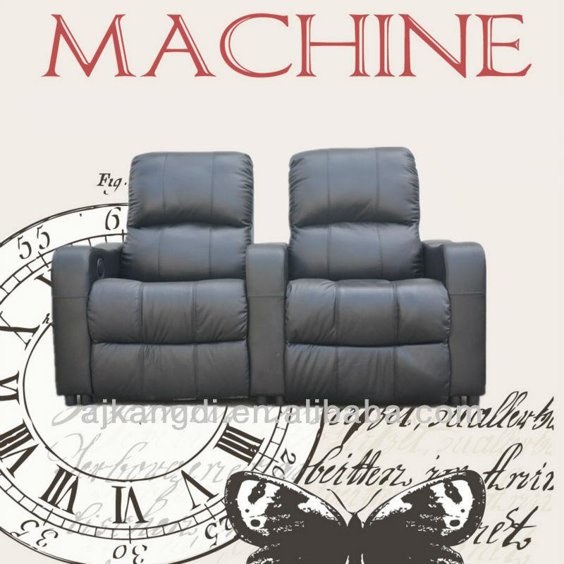 Asientos de cine en casa sof love seat sofa reclinable - Sillon home cinema ...