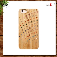 2015 Wholesale Real Wood Phone Accessories/Case For Cell Phone/Mobile Phones Covers