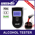 Greenwon Patent Alcohol Breath Tester machine Alcohol for Liquor Alcoholmeters AT-818