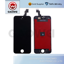 Factory supply mobile phone replacement digitizer lcd touch screen for iphone 5 lcd complete