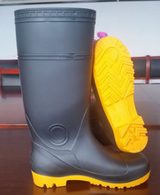 Men Gender and Safety Shoes Type mining boots with steel toe cap