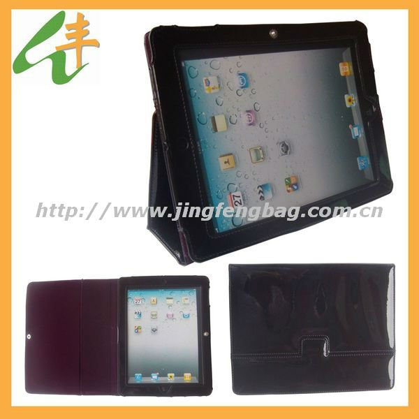"2014 newest hot sale fashion 9.7"" leather tablet case"