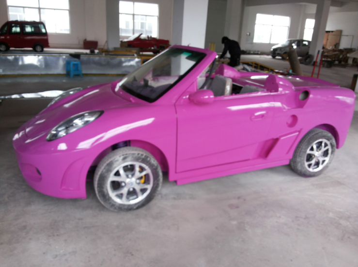 smart roadster electric car