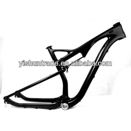 "2014 YISHUNBIKE New Arrival 29"" dual suspension MTB Frameset EN stantard mountain bike frame full suspension"