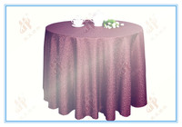 Wedding Polyester Damask Table Cloths/Cover For banqute