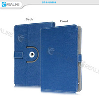 shock proof universal rotatory flip leather case cover for 7 inch tablet case