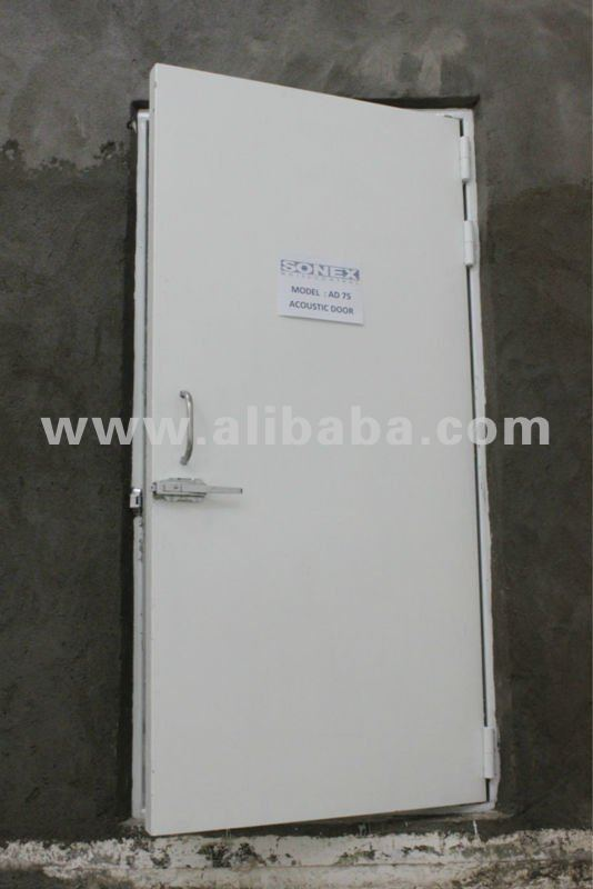 Steel Acoustic Door (ISO 140: STC 46)