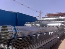 galvanized steel round tube/pipe products for buildings materials