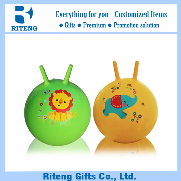 imprinted logoanti-burst skippy ball for business promote