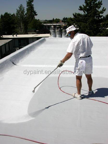 Solar high reflective roof spray acrylic polymer coatings