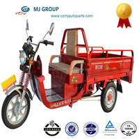 Hot Sale 1500W Steel Three Wheel Electric Cargo Motorcycles with Cabin