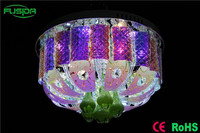 New design silver luxury crystal ceiling light chandelier light for hotel/hall/villa