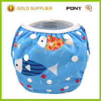 2016 Hot Sale Adjuatable Baby one size reusable swimming diaper,Infant Baby Boy Girl Reusable Swimwear
