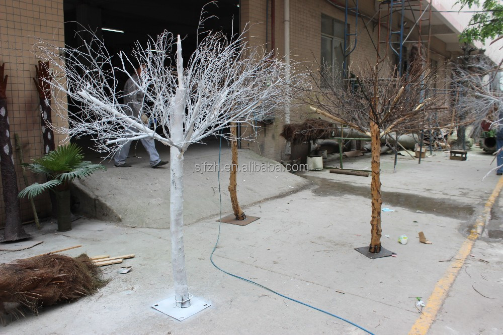 Fake decor high quality artificial tree no leaves
