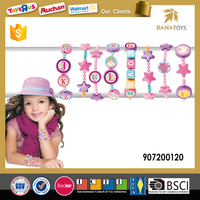 New design plastic makeup beads toy set for girls