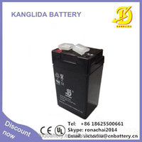 Maintenance free 4v2ah sealed lead acid battery rechargeable emergency light batteries