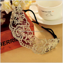 Fashion Korean Style Lace Flower Elastic Headband Hairband <strong>Hair</strong> <strong>Accessory</strong> For Women & Girls Hot Lovely Wedding Headwear