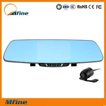 New arrival rearview mirror car camera,140 degree view angle dvr hd,android car rearview mirror gps dvr