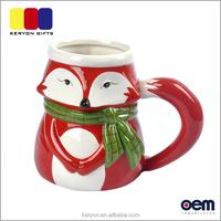 Wholesale Animal Shape Household Mug Ceramic Cup