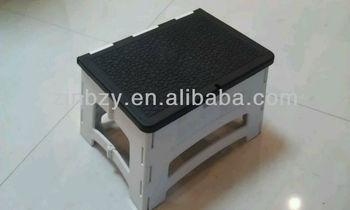 3 ANTI SKID PLASTIC FOLDABLE STOOL