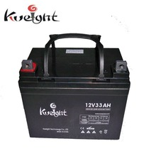 Rechargeable lead acid battery 12V 33AH Sealed battery for forklift